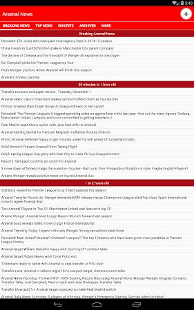 Latest Arsenal News &Transfers 5.6 screenshot 735882