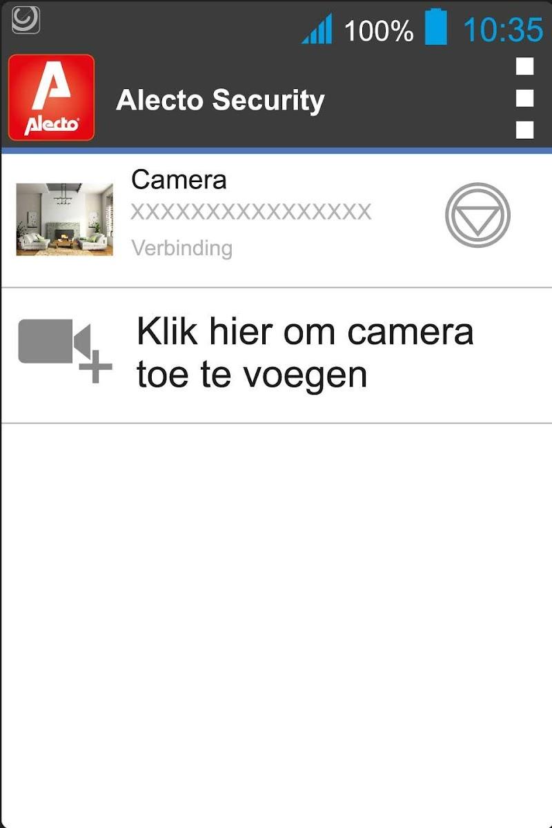 Скриншот Alecto Security
