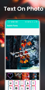 Stylish Fonts Screenshot