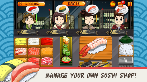 Sushi Friends-Best&Fun Restaurant Game for Girls 1.0.3 screenshots 1