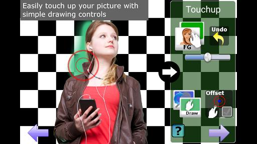 Chroma Key Touchup screenshot 2