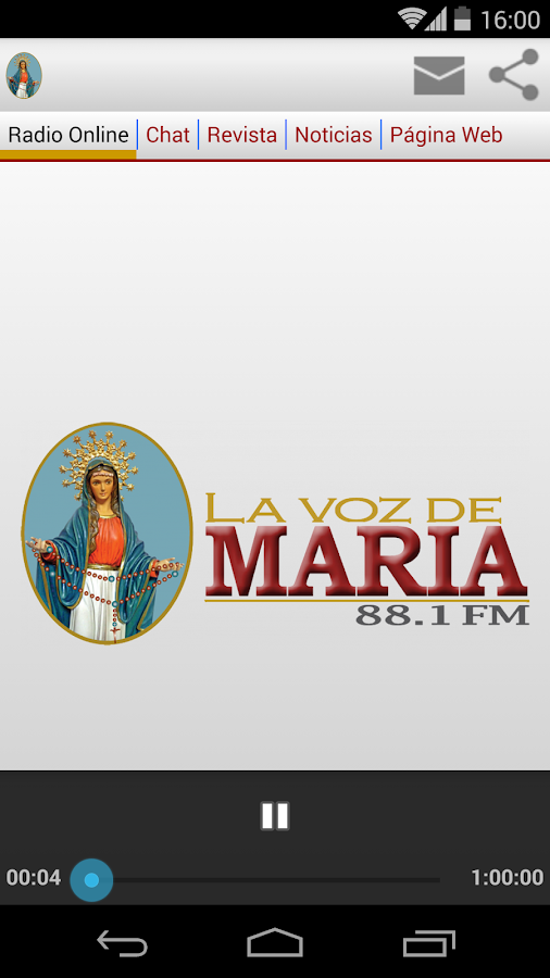 La Voz de Maria 88.1 FM- screenshot
