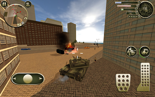 Tank Robot Screenshot