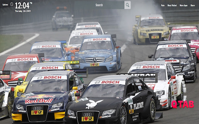 DTM New Tab DTM Wallpapers