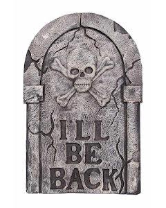 """Gravsten, """"I'll be back"""""""