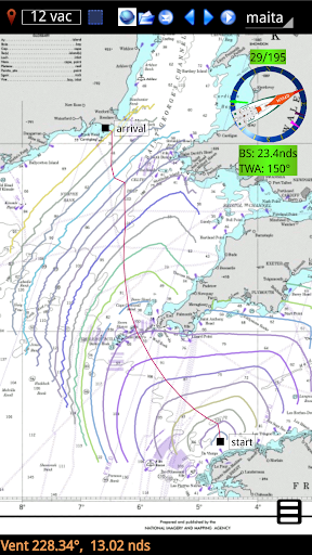 qtVlm Navigation and Weather Routing 5.9 screenshots 5