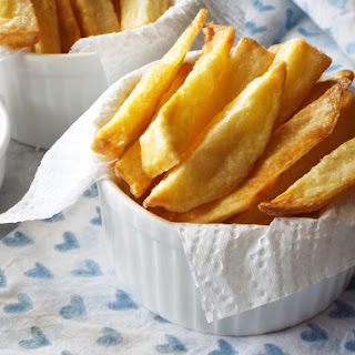 Easy Healthy Baked Fries! Recipe