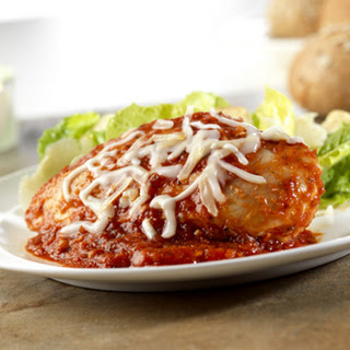 Better-For-You Chicken Parmesan.