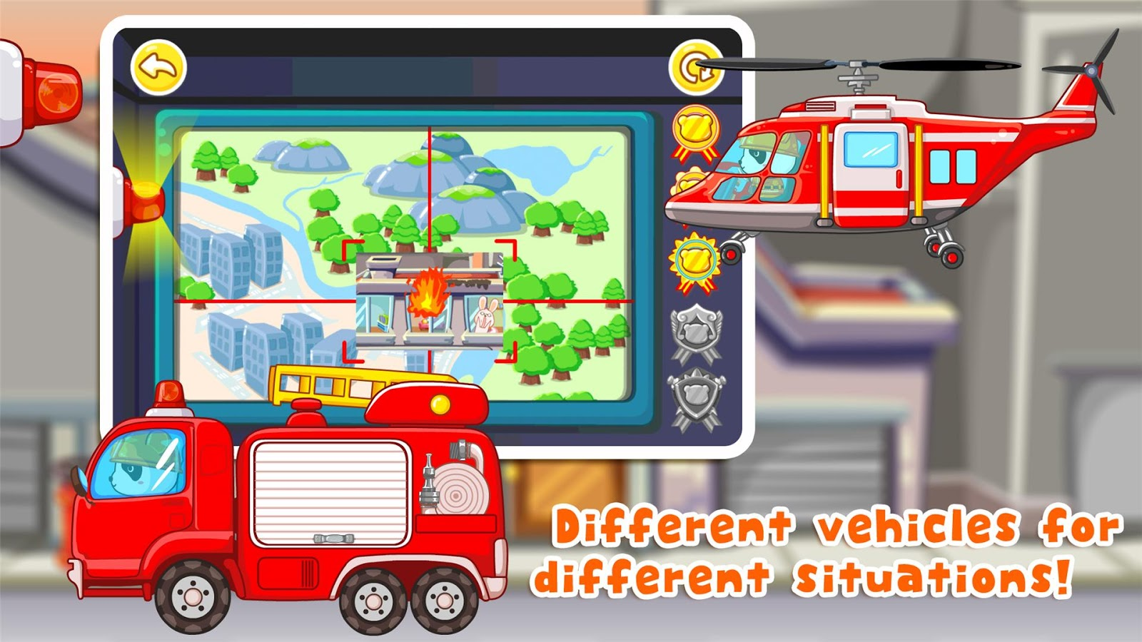 Little Panda Fireman- screenshot