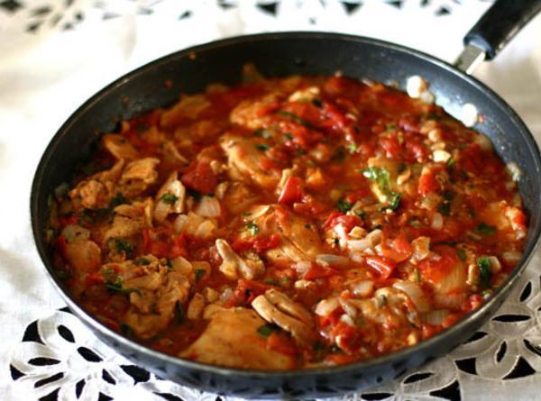 Georgian Chicken With Herbs Recipe