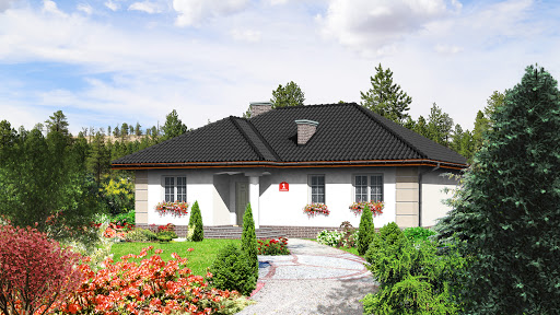 projekt Dom przy Łabędziej