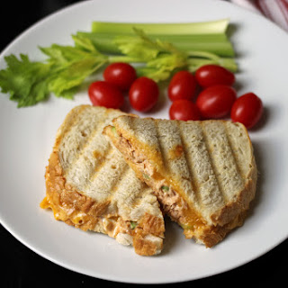 Buffalo Tuna Melt Sandwich.