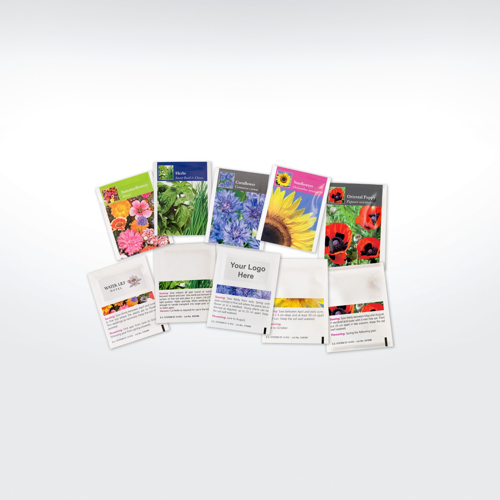 Promotional Printed Seed Packets