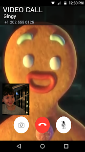 Real Call From Gingerbread Man - náhled