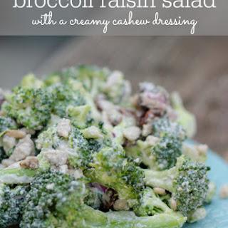Broccoli Raisin Salad Without Bacon Recipes.