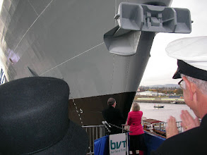 Photo: 2009 Oct 21 - Launching of HMS Defender