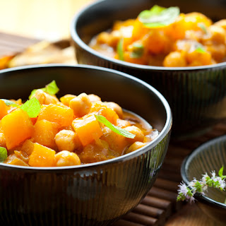 Curried Chickpea Stew.