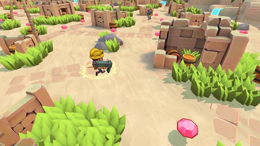 Télécharger TopGuns.io - Guns Battle royale 3D Action mod apk screenshots 2