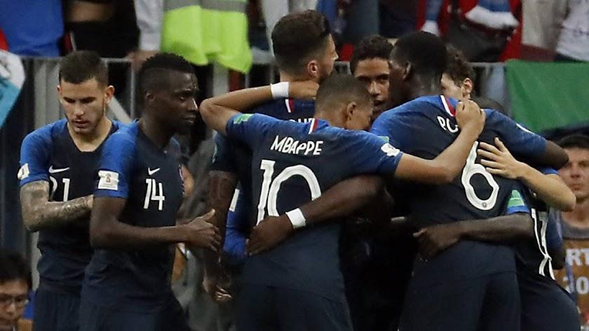 Francia domina con una buena media de edad.