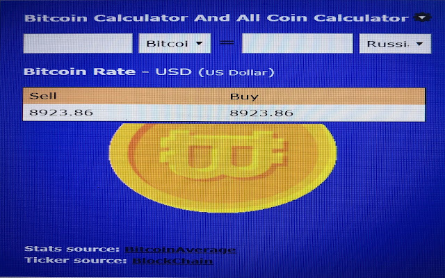 Bitcoin Calculator And All Coins