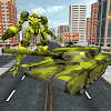 US Army Tank Transformer Robot