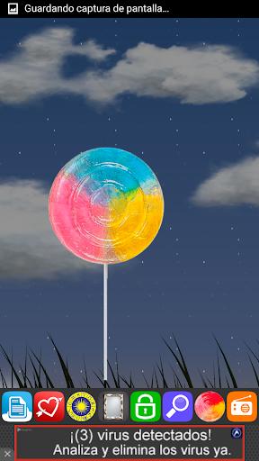 FlashLight Lollipop LED Galaxy