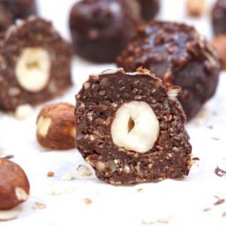 Hazelnut Rocher Truffles