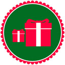 Christmas Gifts Backgrounds HD Custom New Tab Icon