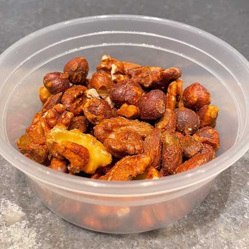 Toasted Spiced Nuts