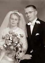 Photo: 19640927 Asko ja Salli Korpela, hääkuva (Hytti Arvo)