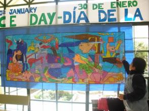 Photo: Mural del Guernica 5ºA y 5ºB