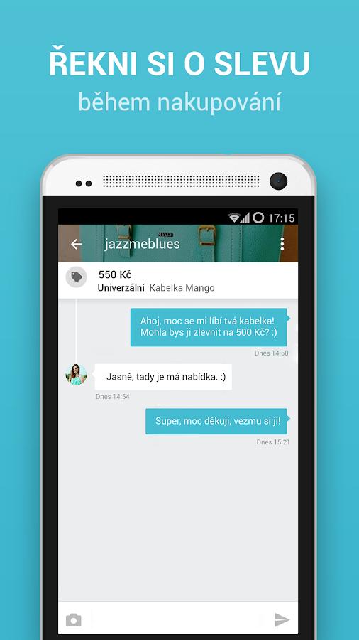 Vinted.cz- screenshot
