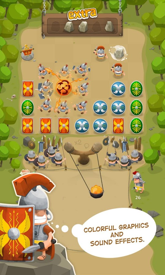 GALLIA Rise of Clans, Catapult- screenshot