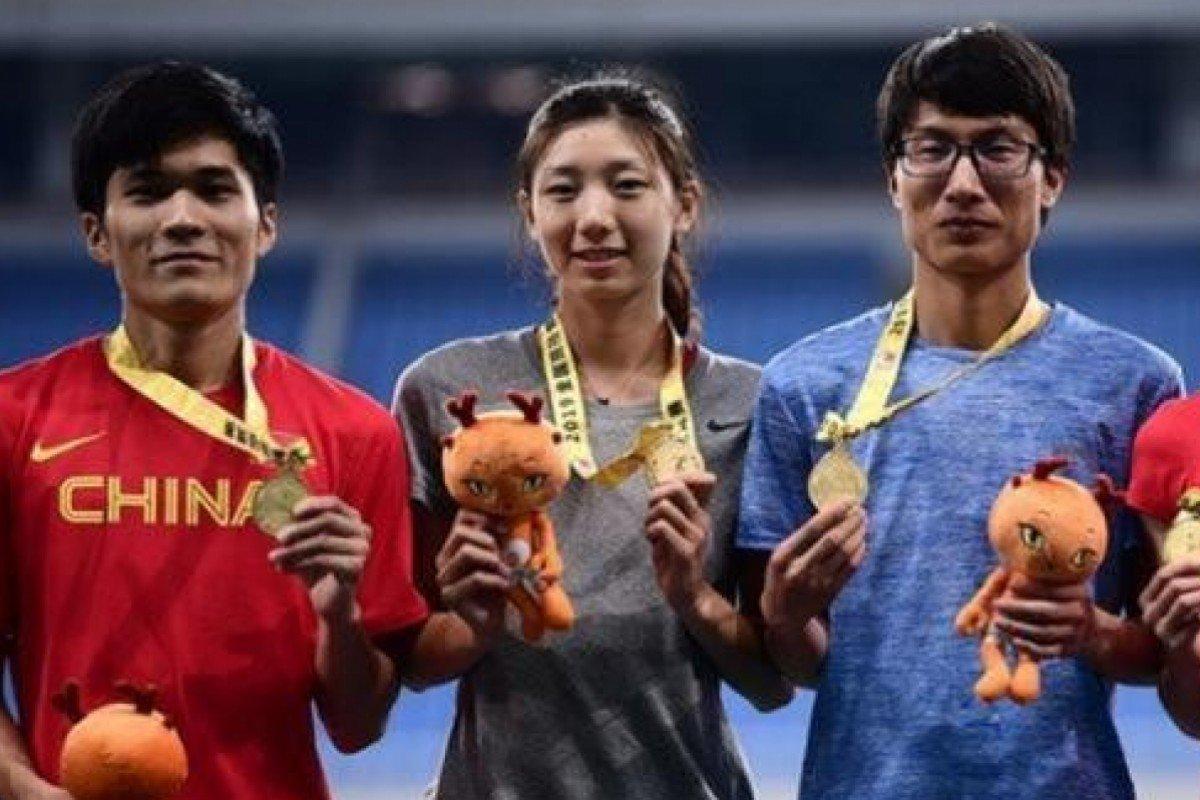 chinese track runners