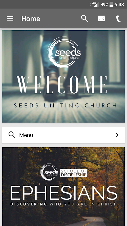 Seeds Uniting Church- screenshot