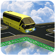 Extreme Impossible Track Van Driving - Racing Game