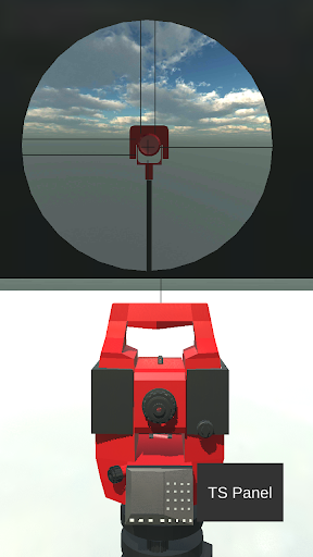 Total Station Simulator