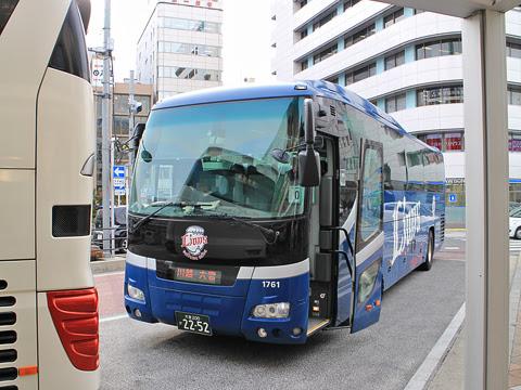 西武観光バス「関越高速バス」大宮・川越~長岡・新潟系統 川越駅西口到着