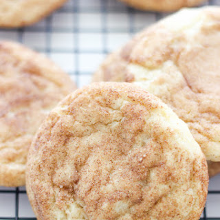 Perfect Soft and Chewy Snickerdoodles.