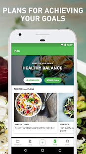 Runtastic Balance Food Tracker & Calorie Counter 5