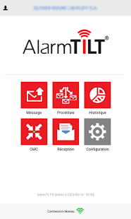 AlarmTILT Mobile - náhled