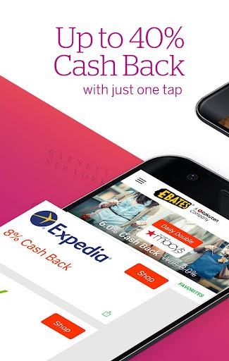 Ebates: Cash Back, Coupons, Rewards & Savings screenshot