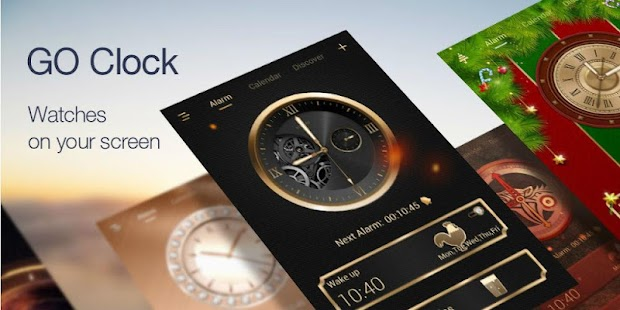 GO Clock - Alarm Clock & Theme- screenshot thumbnail