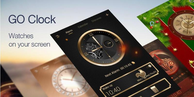 GO Clock - Alarm Clock & Theme - screenshot