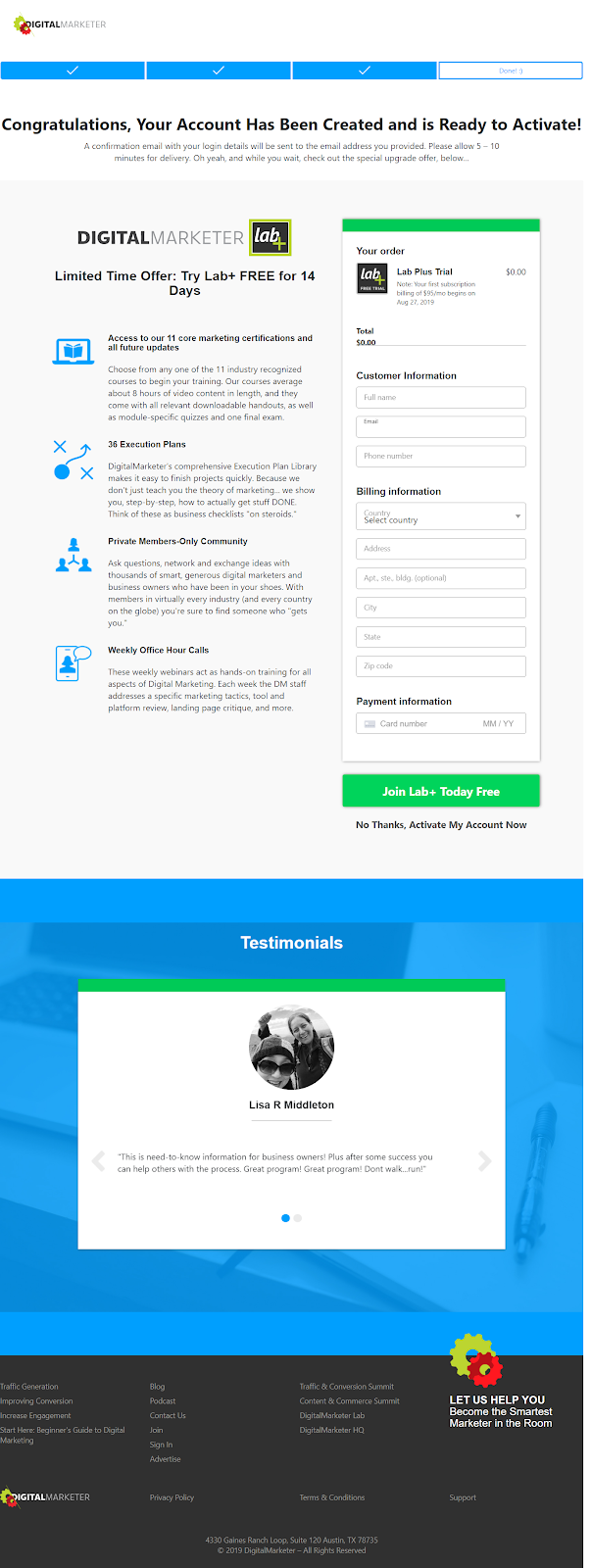 20 Thank You Page Examples that Crush Lead Nurturing in 2019