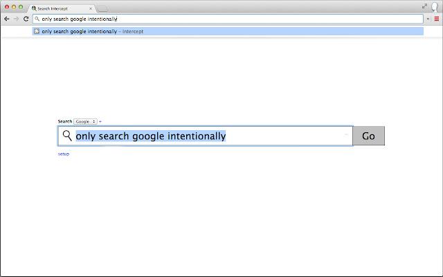 Search Intercept