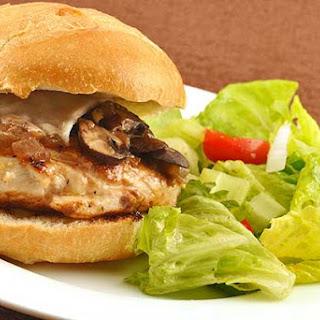 Grilled Chicken Marsala Sandwich.