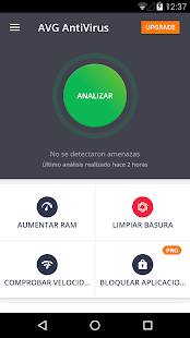 AVG AntiVirus Gratis 2018 Screenshot