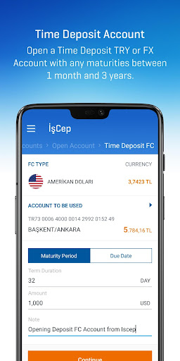 İşCep - Mobile Banking screenshot 5
