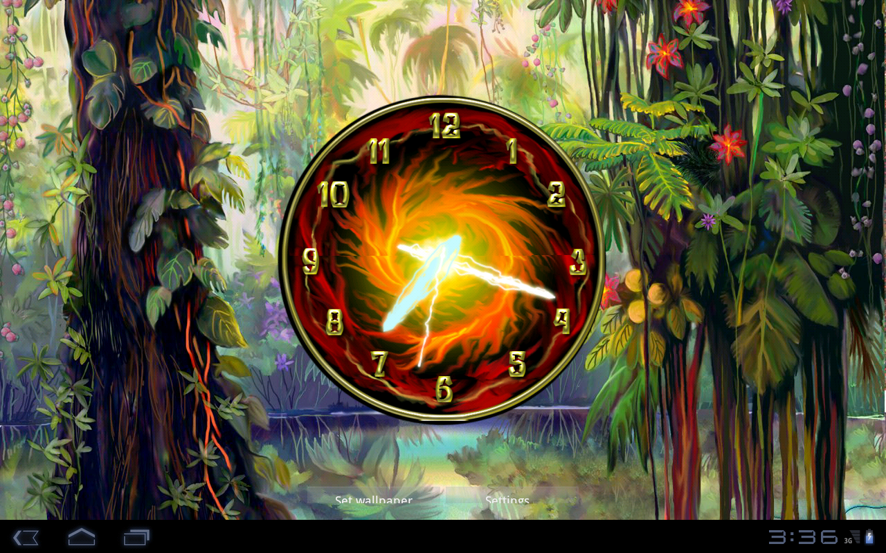 Rock Clock- screenshot